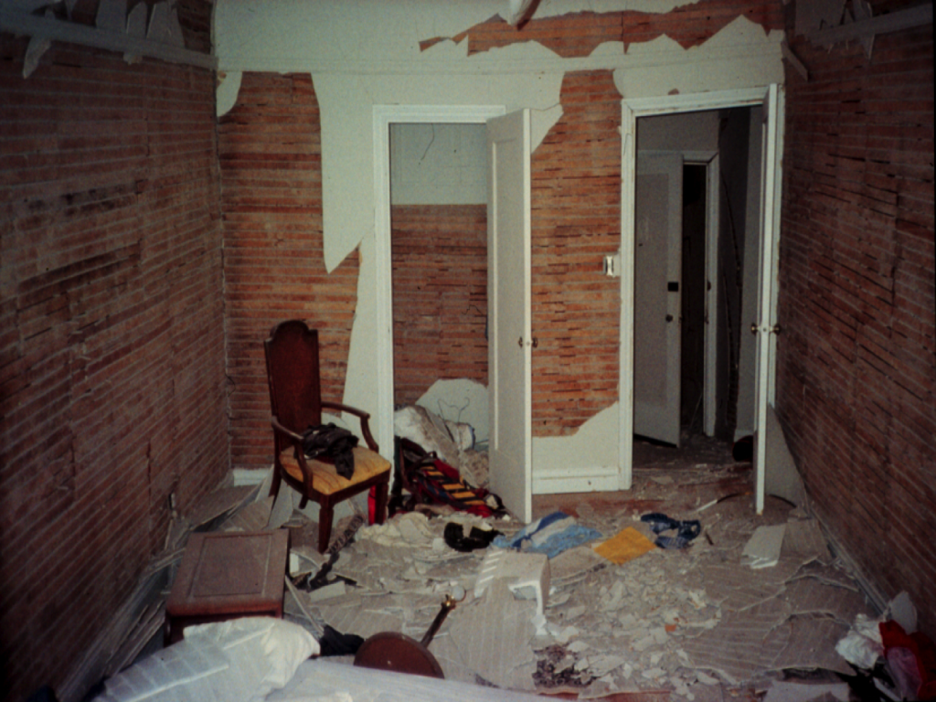 INSIDE HOUSE DAMAGE AFTER CRIPPLE WALL FAILURE