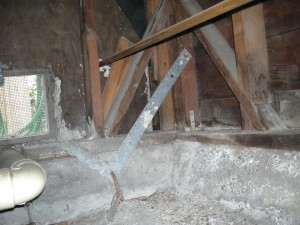 Ineffective Straps used in a Seismic Resist against Earthquakes