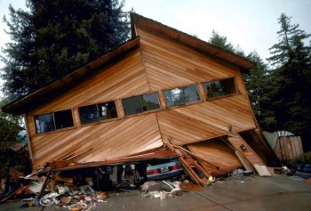 This soft story home in Santa Cruz could have been saved with shear walls and rotation