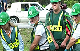 Photo Earthquake Disaster Preparedness Team