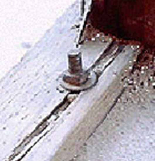 Split Mudsill From Bolt In Hole That Was Too Big