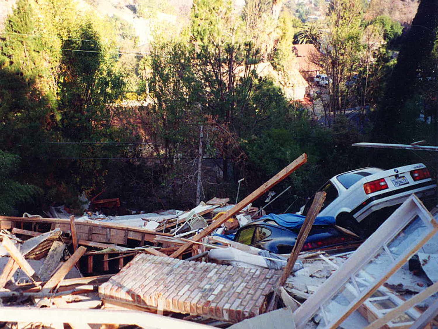 This catastrophic damage could have been stopped with a hillside home retorfit