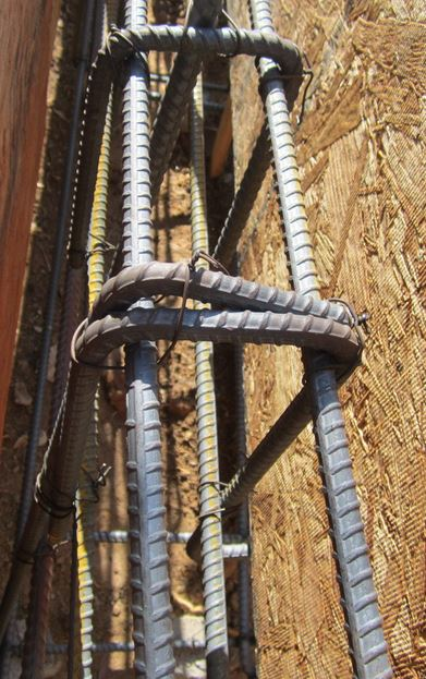 Massive amount of rebar needed in a Simpson Strongwall retrofit