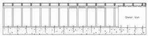 bolt locations on cripple wall for brick foundation retrofits
