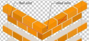 Location of bricks for brick foundation shear test