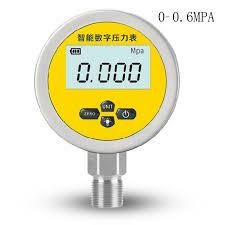 Pressure gauge for brick foundation shear test