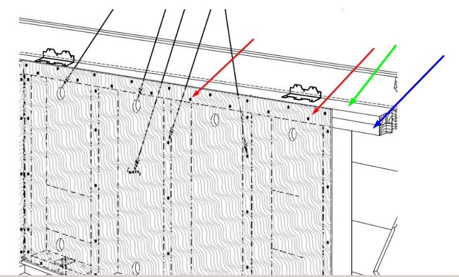 Shear wall boundary nailing mistake